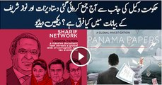 Sharif family submits details documents in SC in Panama Leaks caseSharif family submits details documents in SC in Panama Leaks case