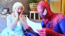 NEW SPIDERMAN & FROZEN ELSA VS JOKER PRANK! w/ Maleficent, Joker Girl Spider Superhero Movie