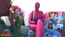 Spiderman wants attention of Spidergirl with Wedding Proposal Superheroes in Real Life