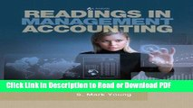 Read Readings in Management Accounting (6th Edition) PDF Free