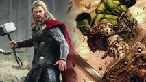 Thor: Ragnarok - Mark Ruffalo Hulks Out on set with Thor