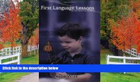 eBook Here First Language Lessons for the Well-Trained Mind (Vol. Levels 1   2)  (First Language