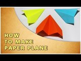ORIGAMI | HOW TO MAKE PAPER PLANE | TRADITIONAL PAPER TOY | HINDI