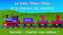 Le train Tchou Tchou et la chanson des nombres - Dessin animé éducatif et interactif Karaoké