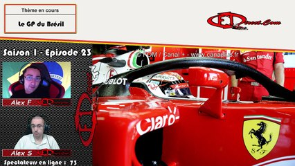 REPLAY - F1-Direct GP Passion - Saison 1 - Episode 23