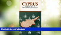 Big Deals  Cyprus: A Chronicle of Its Forests, Land, and People  Best Seller Books Most Wanted