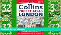 Big Deals  Collins London Pocket Atlas  Full Read Most Wanted