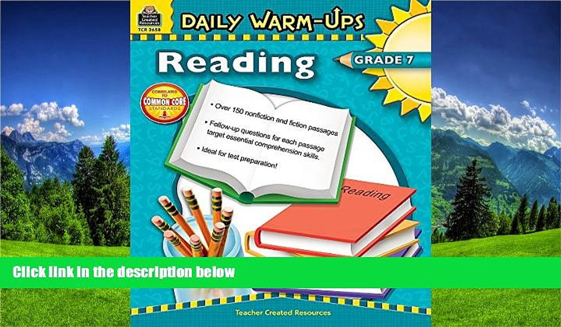 Online eBook Daily Warm-Ups: Reading Grade 7