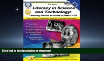READ  Literacy in Science and Technology, Grades 6 - 8: Learning Station Activities to Meet CCSS
