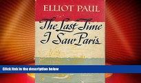 Big Deals  The Last Time I Saw Paris  Full Read Most Wanted