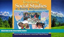 Online eBook Teaching Social Studies in Early Education (Early Childhood Education)