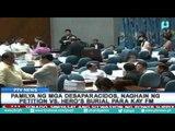 """Pamilya ng mga """"desaparacidos,"""" naghain ng petition vs. """"Hero's Burial"""" para kay dating Pres. Marcos"""