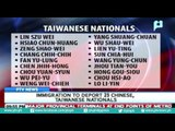 Immigration to deport 25 Chinese, Taiwanese Nationals