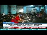 Ilang internet cafe sa Koronadal, sinuspinde dahil sa kawalan ng business permit