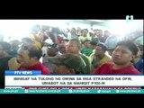 Ibinigay na tulong ng OWWA sa mga stranded na OFW, umabot na sa mahigit P100-M