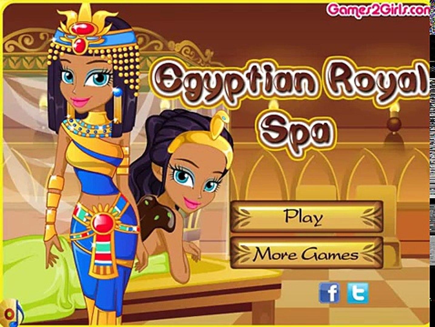Egyptian Royal Spa/Египетская Королева в Салоне Красоты