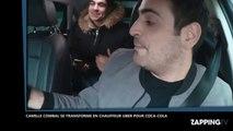Camille Combal devient chauffeur Uber pour une pub, la vidéo hilarante