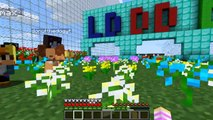 LITTLE CLUB LUCKY BLOCK  BABY LEAH IS EVIL LITTLE KELLY!!!- Minecraft - Baby Leah Adventures