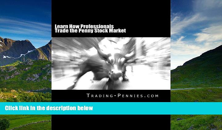 READ book  Learn How Professionals Trade the Penny Stock Market: A step-by-step method on how to