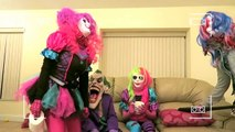 JOKER SQUAD Spiderman vs Joker w Joker Girl Frozen Elsa Mini Joker Queen Of Jokes Mad Joker