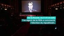 """Edward Snowden appelle à l'action et non à la """"peur"""" de Donald Trump"""