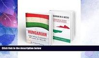 Big Deals  Hungarian: Learn Hungarian Bundle 2-1 (Hungarian: in a Week!   Hungarian: 1062 Most