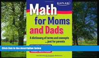 Online eBook Math for Moms and Dads: A dictionary of terms and concepts...just for parents