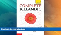 Big Deals  Complete Icelandic: A Teach Yourself Guide (Teach Yourself Language)  Best Seller Books