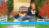 Fresh eBook Ayude a sus hijos a leer y escribir con el metodo Montessori / Help Your Children to