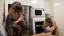 When Mama Isn't Home - When Mom Isn't Home - When Leia Isn't Home (Star Wars)