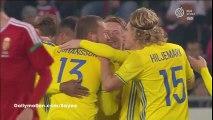 Sam Larsson Goal HD - Hungary 0-1 Sweden - 15-11-2016 Friendly Match