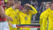 Sam Larsson Goal HD - Hungary 0-1 Sweden - International Friendly - 15.11.2016