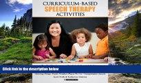 Online eBook Curriculum-based Speech Therapy Activities: Volume II: Pre-K / Kindergarten  English