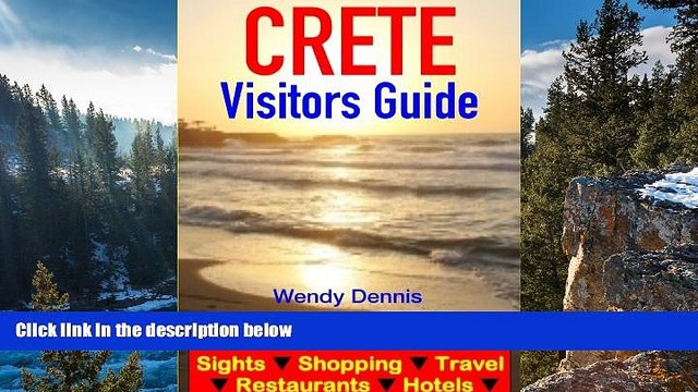 Big Sales  Crete Visitors Guide  - Sightseeing, Hotel, Restaurant, Travel   Shopping Highlights