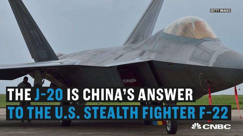 China unveils its J-20 stealth fighter jet | CNBC International | Godialy.com