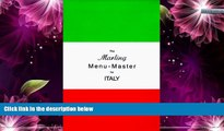 Buy NOW  The Marling Menu-Master for Italy: A Comprehensive Manual for Translating the Italian