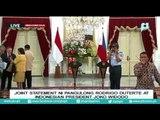 Joint Statement ni Pangulong Rodrigo Duterte at Indonesian President Joko Widodo
