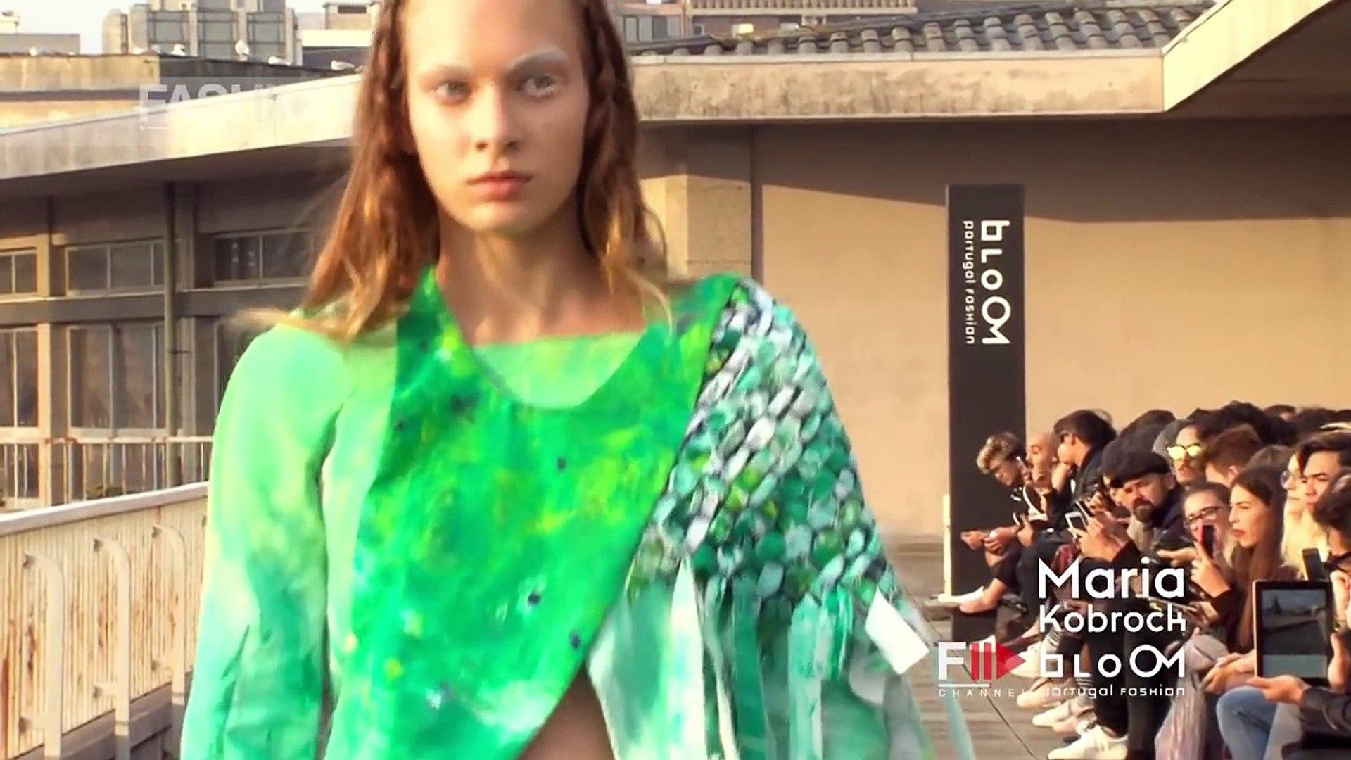 PORTUGAL FASHION SS17 BLOOM | MARIA KOBROCK | By Fashion Channel