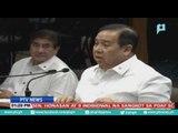Mosyon ni Sen. Trillanes na imbestigahan si Pres. Duterte, ipinasa ng Senado sa Rules Committee