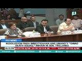 "Resolusyon para imbestigahan ang umano'y ""Davao Death Squad,"" inihain ni Sen. Trillanes"