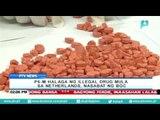 6-M halaga ng iligal na droga sa mula sa The Netherlands, nasabat ng BOC