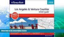 Deals in Books  The Thomas Guide 2008 Los Angeles   Ventura County, California (Thomas Guide Los