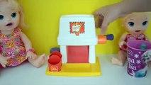 Baby Alive minha Boneca e Maquina De Batata Frita do McDonalds!!! Em Portugues T