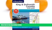 Buy NOW  Thomas Guide 2006 King   Snohomish Counties, Washington: Street Guide (King, Snohomish