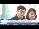 Sec. Aguirre: Subpoena vs De Lima at 4 na iba pa, nakatakdang ilabas sa susunod na linggo