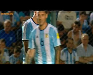 Goal Angel Di Maria - Argentina 3-0 Colombia (15.11.2016) World Cup 2018 CONMEBOL Qualification