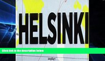 Must Have  Crumpled City Map-Helsinki  Buy Now