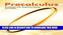PDF Download] Precalculus: A Functional Approach To Graphing