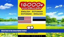 Best Buy Deals  16000+ English - Estonian Estonian - English Vocabulary (ChitChat WorldWide)