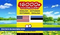 Best Buy Deals  16000+ English - Estonian Estonian - English Vocabulary (ChitChat WorldWide)